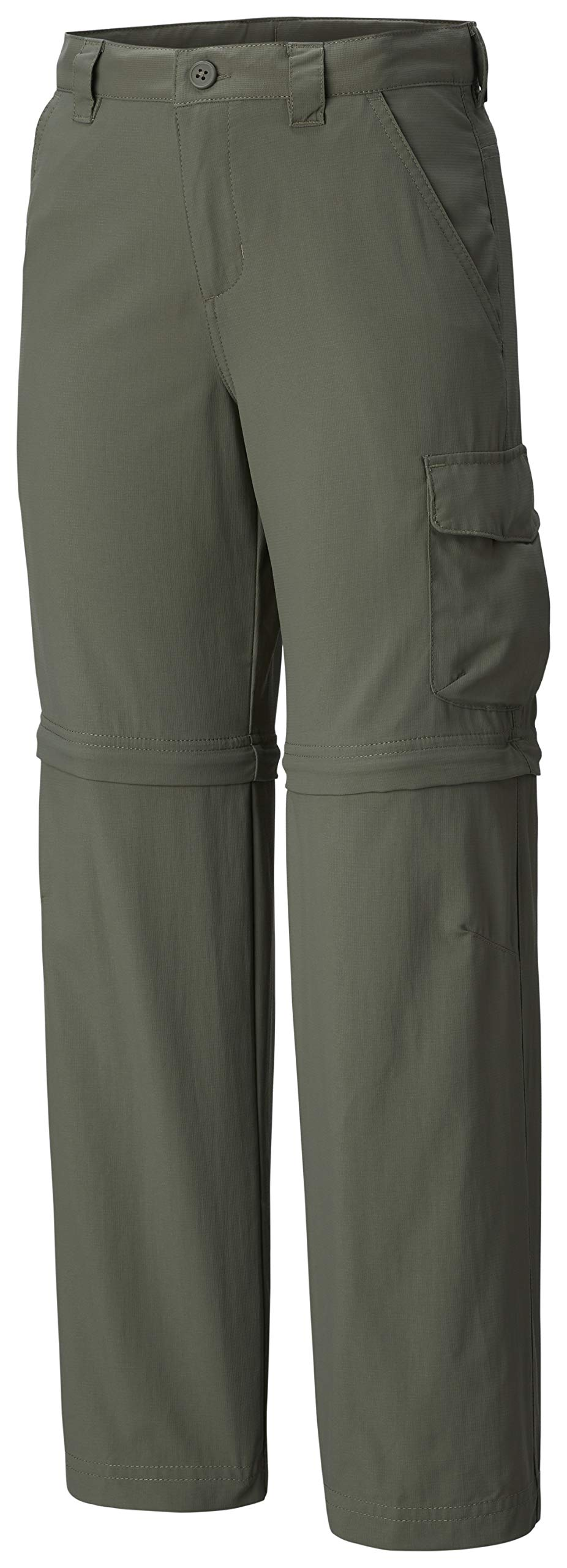 Columbia Youth Boys Silver Ridge III Convertible Pants, Cypress, Small by Columbia