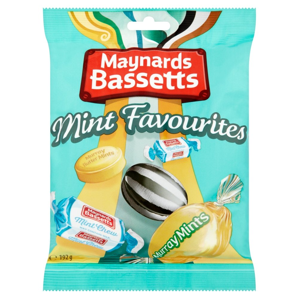 Amazon.com : Maynard Bassetts Mint Favourites : Grocery & Gourmet Food