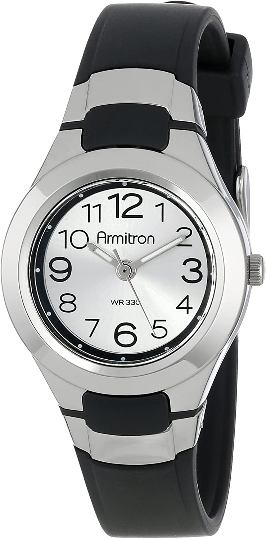 Armitron Sport Women s 25 6418 Easy to Read Dial Resin Strap Watch