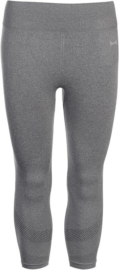 USA Pro Womens Seamless Capri Leggings Capris Pants Trousers Bottoms Stretch