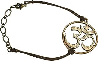 product image for Om Peace Bronze Adjustable Bracelet