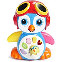 KONIG KIDS Smart Swing Penguin Education Toy With Dancing, Big Eyes Winking, Wings Swinging and Mouth up & Down For Talking Functions For Baby 6 Months +