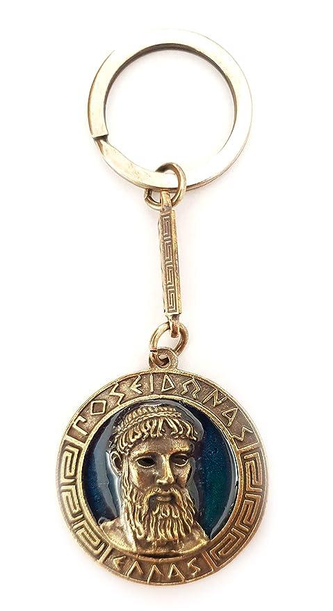 Amazon.com: Iconsgr - Llavero con diseño de moneda antigua ...