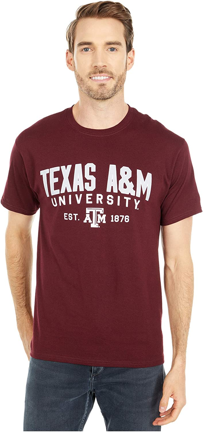 Champion College Mens Texas A/&M Aggies Jersey Tee