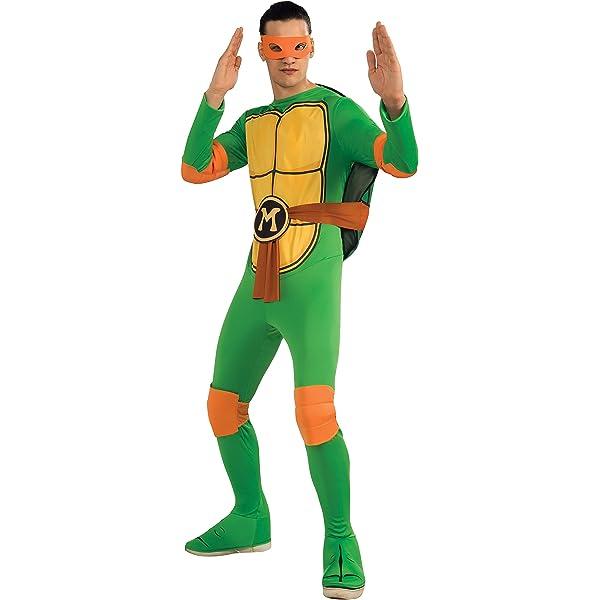 Disfraz de Tortuga Ninja Adultos: Amazon.es: Juguetes y juegos