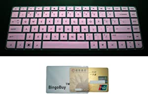 """Silicone Keyboard Protector Skin Cover (if your """"enter"""" key looks like """"7"""", our skin can't fit)"""