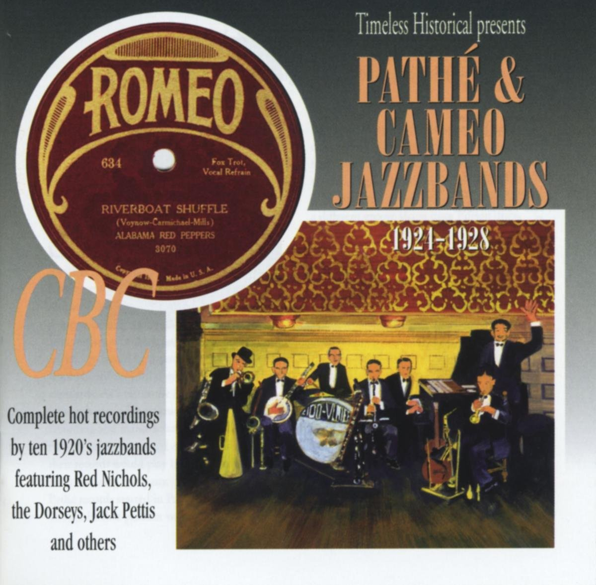 Pathe and Cameo Jazzbands 1921-1928 by Timeless -City Hall-