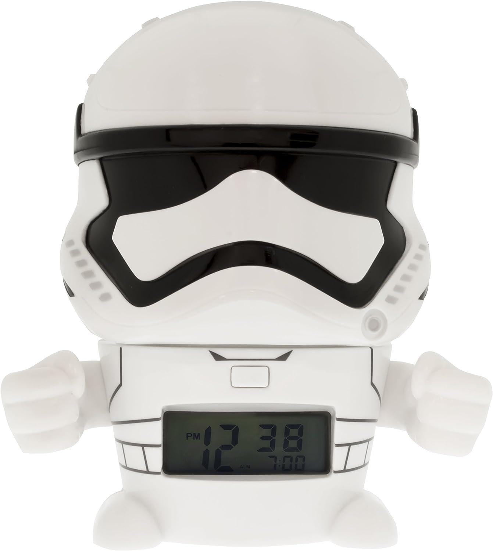 Réveil veilleuse Stormtrooper Star Wars BulbBotz 2021371 avec son caractéristique pour enfant