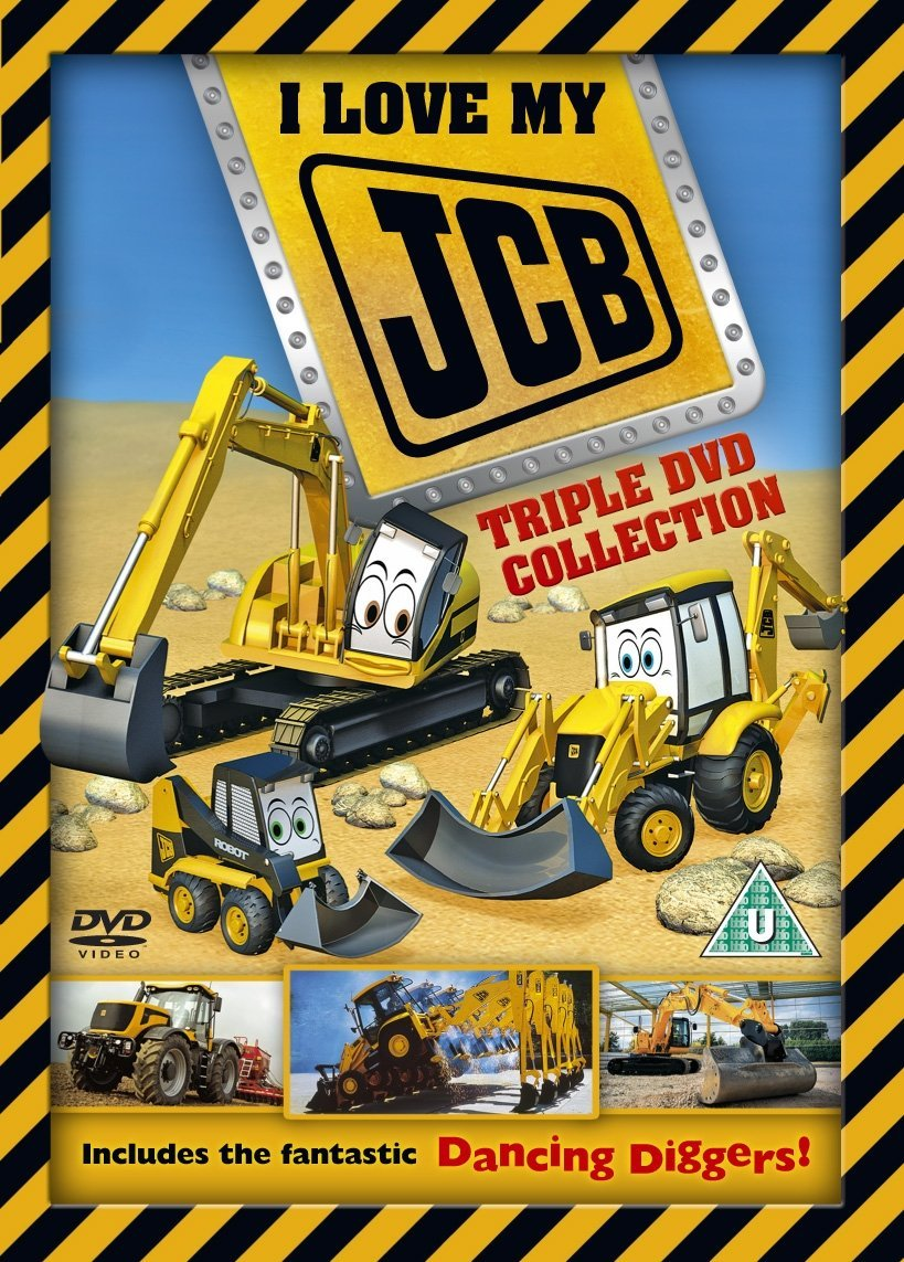 I Love My Jcb Triple 3 Dvd Amazon Co Uk Dvd Blu Ray