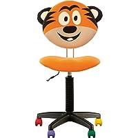 Fauteuil Jouet - Chaise DE Bureau Enfant Ergonomique, Hauteur du Dossier RÉGLABLE, Profondeur D'ASSISE RÉGLABLE, roulettes Multicolores.