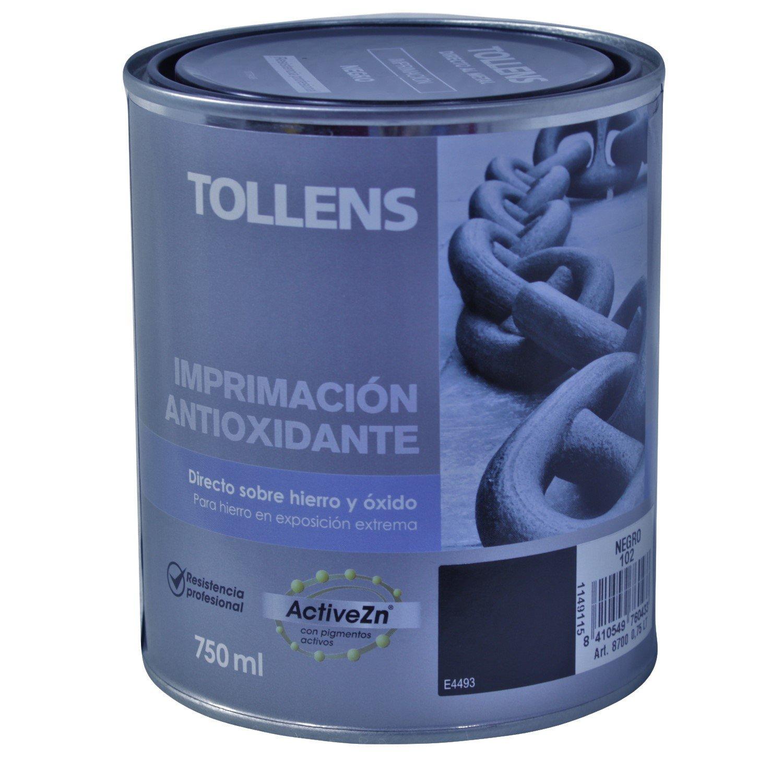 Tollens 8700 Imprimació n Antioxidante, Negro, 750 ML Cromology