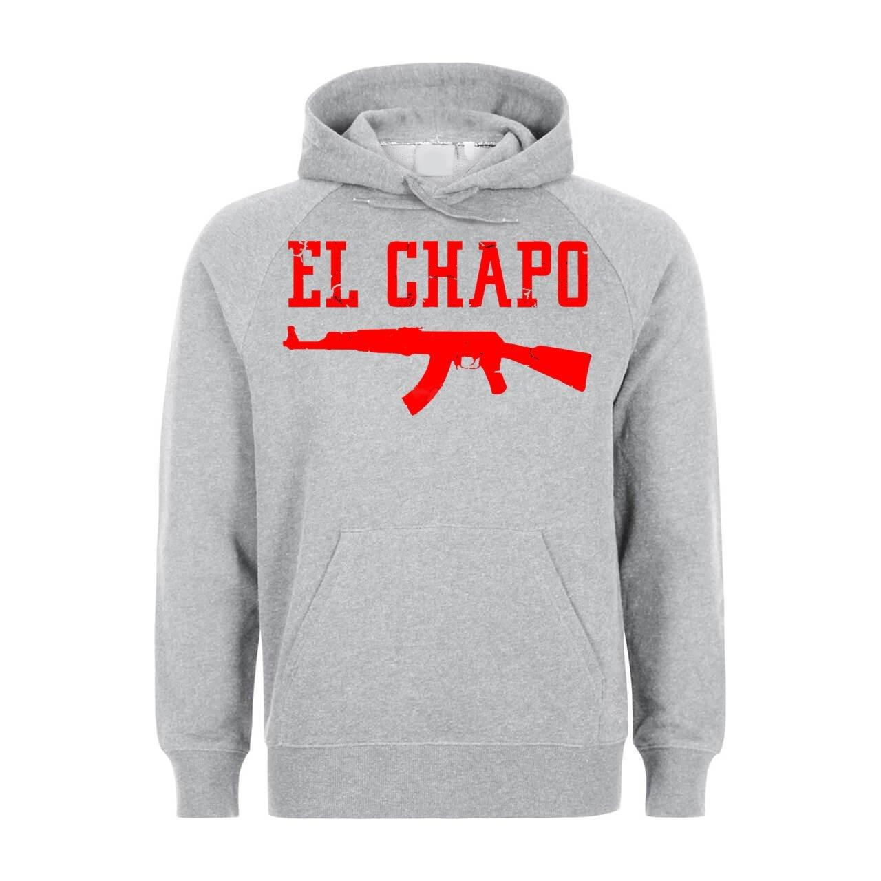 El El El Chapo rot Gun Unisex Hoodie B0756Z2GTN Pullover Schön 942d1d