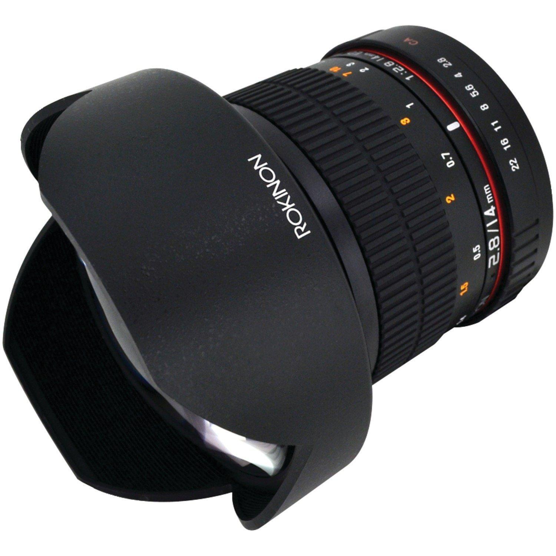 Rokinon FE14M-C 14mm F2.8 Ultra Wide Lens for Canon (Black) by Rokinon
