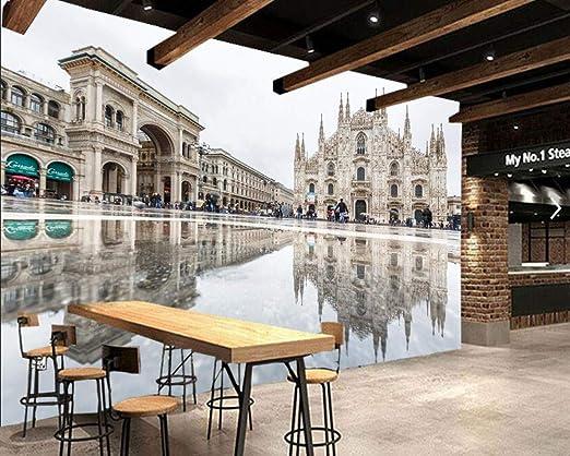Casas Italia Milán Reflexión Ciudad Plaza de la ciudad ...