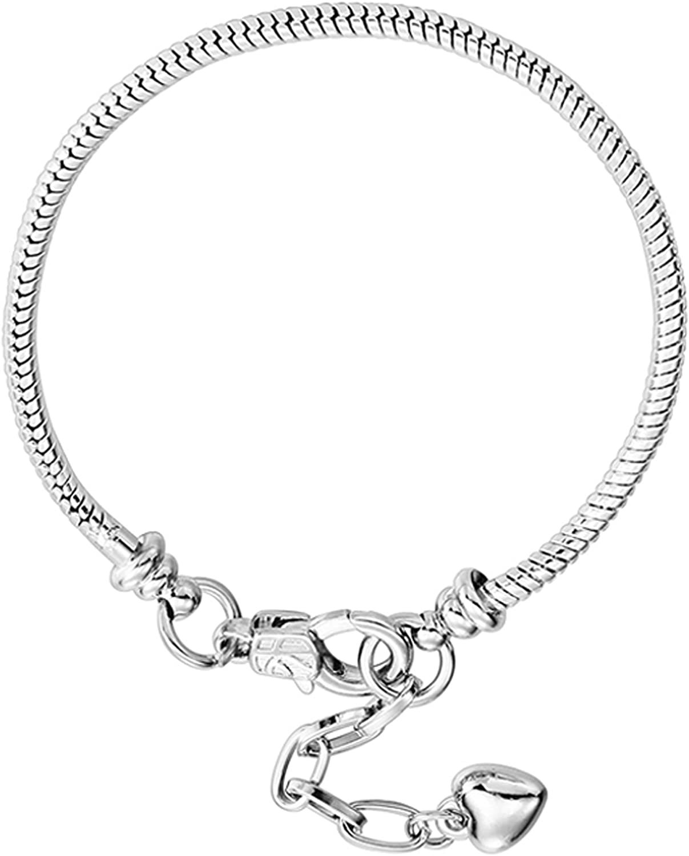 10 pcs Plated Tibetan Silver Hearts series charms Pendants fit bracelet DIY