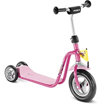 Amazon.com: Puky Kids patinete Roller R1 Lovely Rosa: Baby