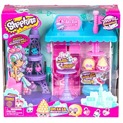 Shopkins World Vacation (Europe) - Oh La La Macaron Café: Toys & Games