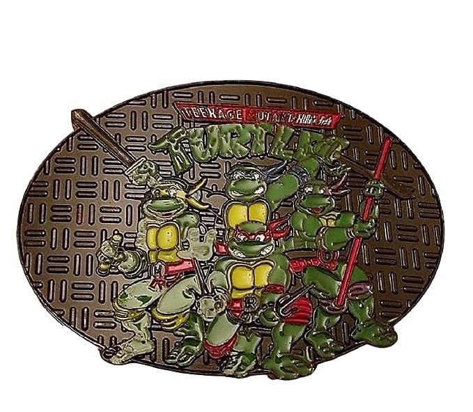 Amazon.com: Teenage Mutant Ninja Turtles Cast Metal Enamel ...