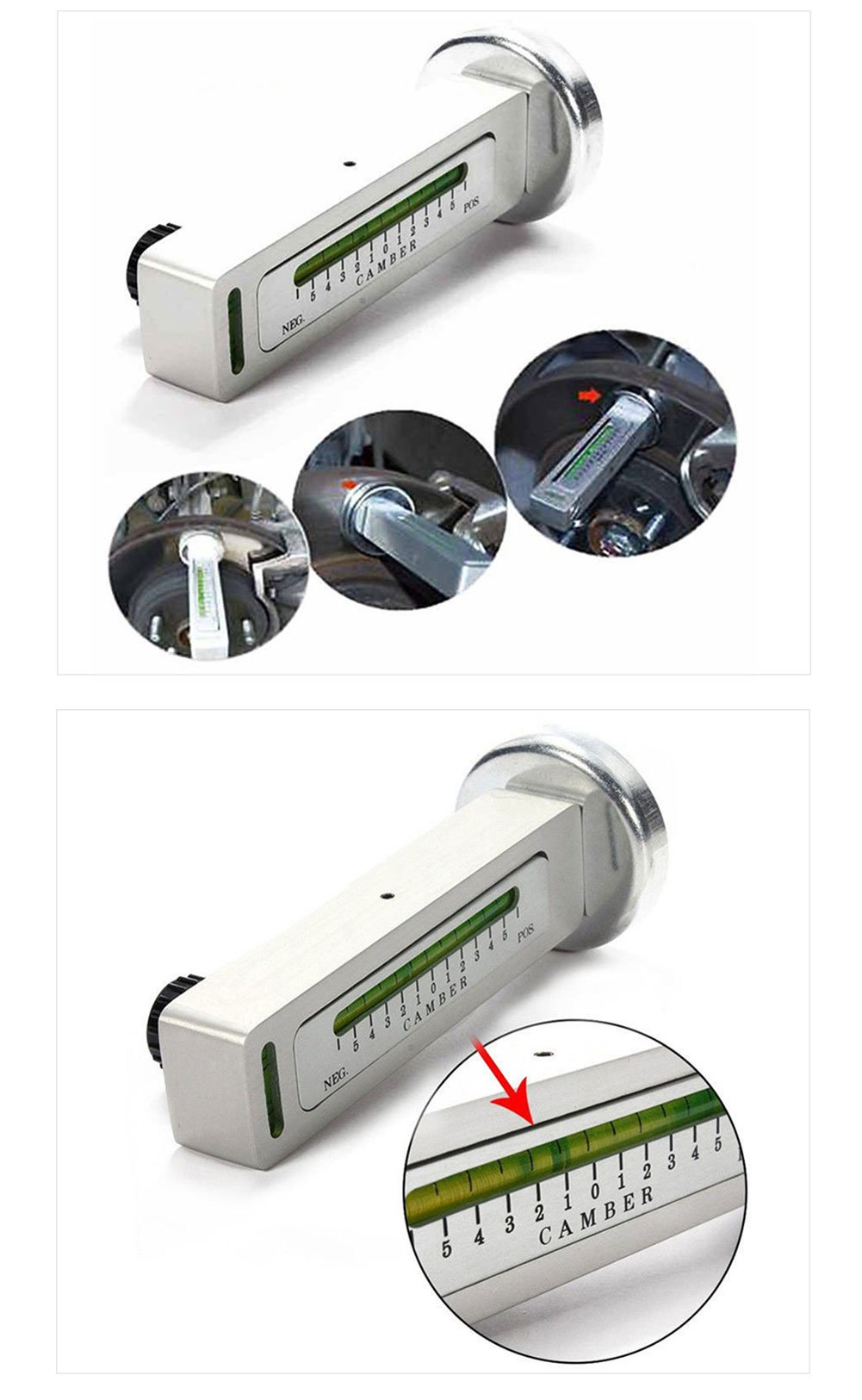Automarketbiz Strong Magnetic Four Wheel Positioning Level Tire Locator Wheel Alignment Equipment Car Goniometer by Automarketbiz (Image #6)