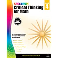 Spectrum Critical Thinking for Math, Grade 4