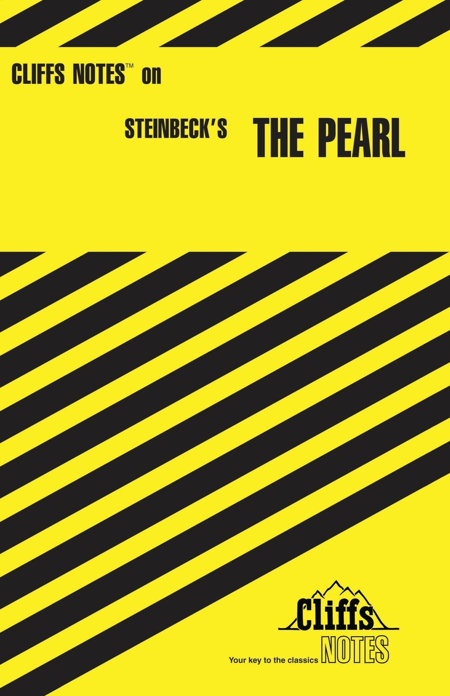CliffsNotes on Steinbeck\'s The Pearl: Eva Fitzwater: 0049086009941 ...