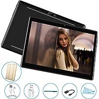 Tablet 10.1 Pulgadas 3GB+32GB, Octa Core, Dual SIM, 3G Tableta de función de llamada ,Android 7.0 V Mobile , 8000 mAh,Diseño de superficie curva 2.5D, WiFi/ Bluetooth/GPS/OTG , Negro
