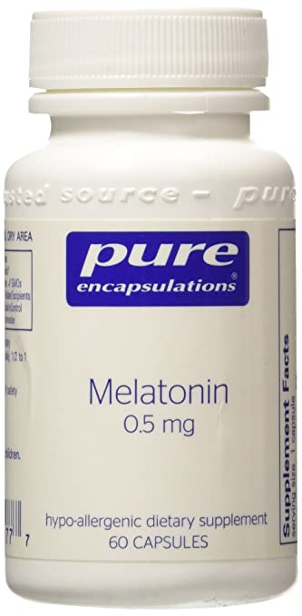 Image Unavailable. Image not available for. Color: Melatonin .5mg 60 VegiCaps