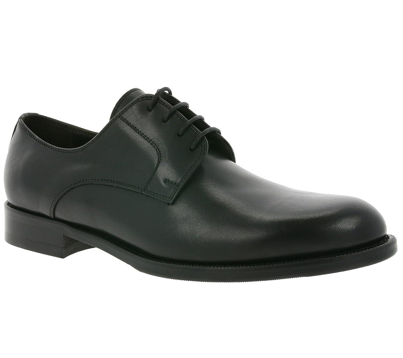 John Baker´s Bart schwarz Made in  Schuhe Herren Echtleder-Schnürschuhe Halbschuhe Schwarz TC132