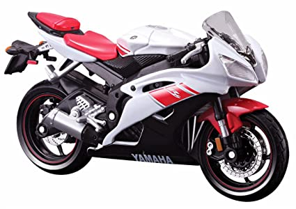 Buy maisto 118 yamaha yzf r6 bikecolor may vary online at low maisto 118 yamaha yzf r6 bikecolor may vary fandeluxe Images