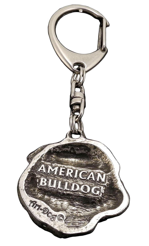 Amazon.com: American Bulldog, perro llavero, llavero ...