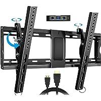 Everstone Adjustable Tilt TV Wall Mount Bracket for Most 32-86 Inch LED,LCD,OLED,Plasma Flat Screen,Curved TVs,Low…