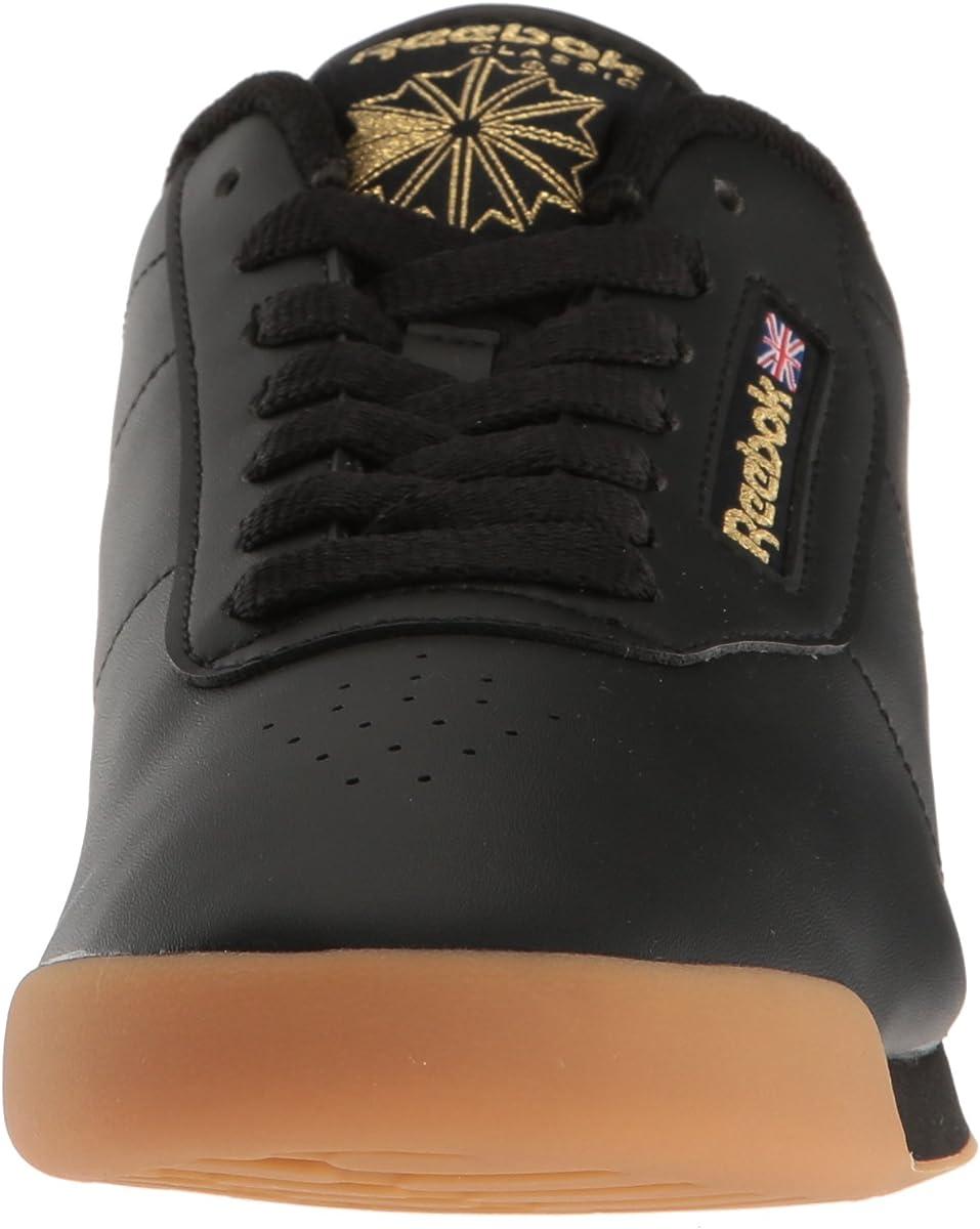 Reebok Princess Sneakers Damen Schwarz/Gummi