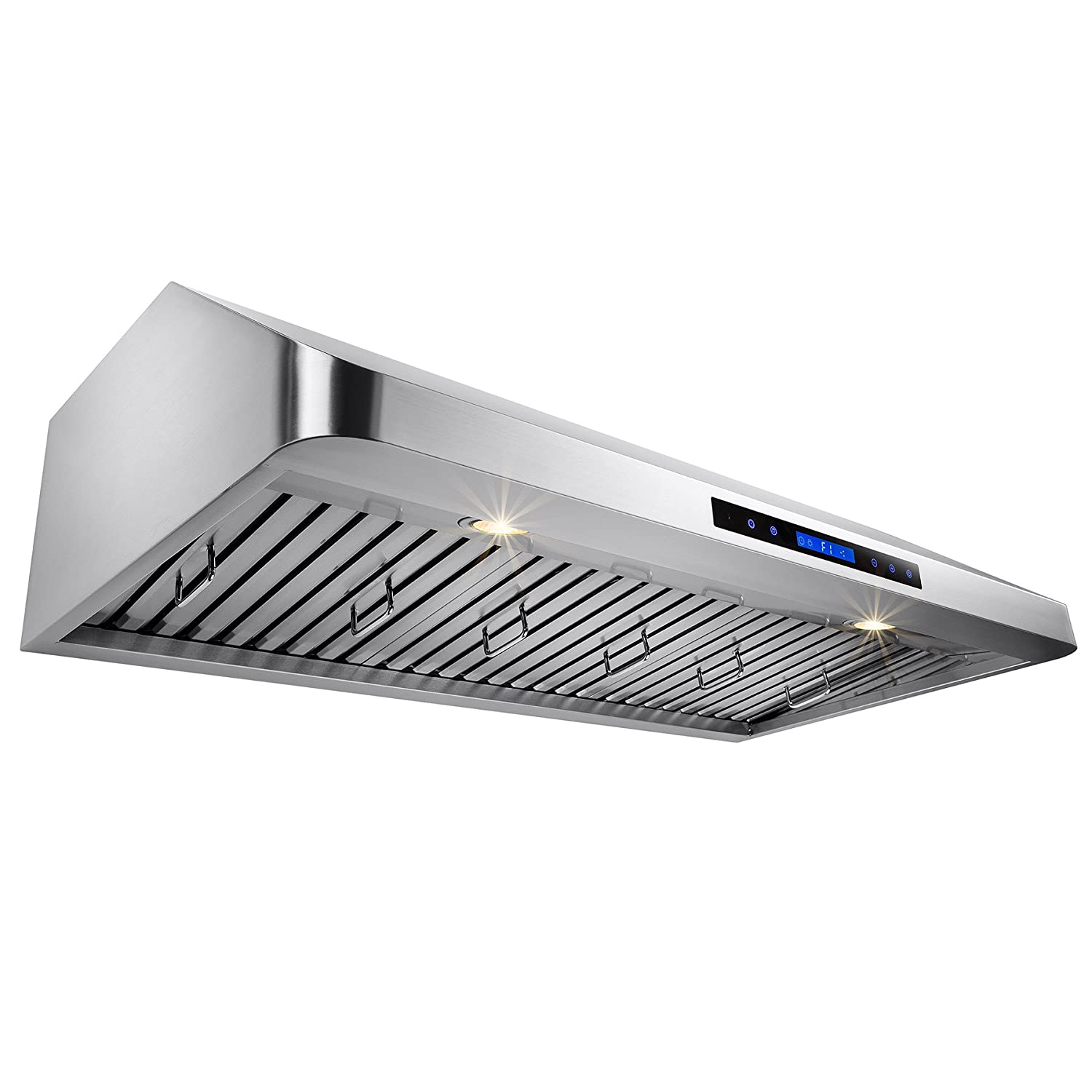 akdy 42 under cabinet stainless steel powerful led