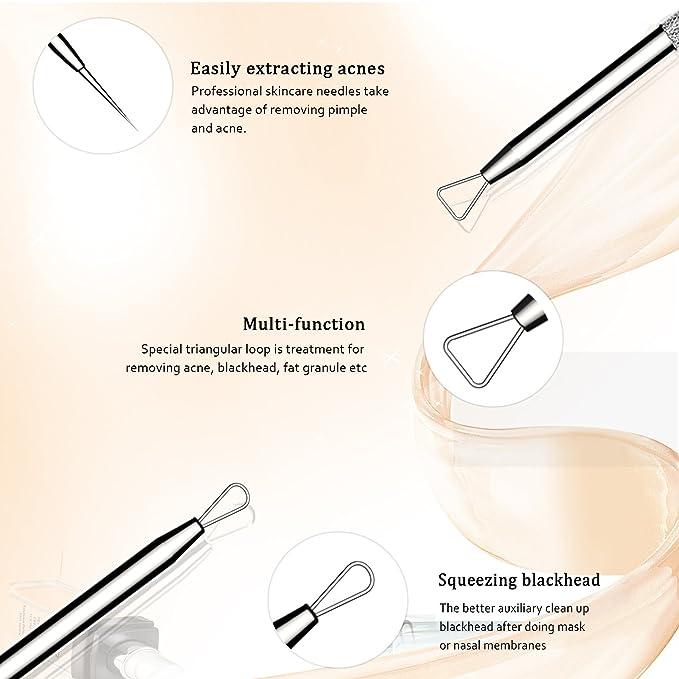 Amazon Bestope Blackhead Remover Pimple Comedone Extractor Tool