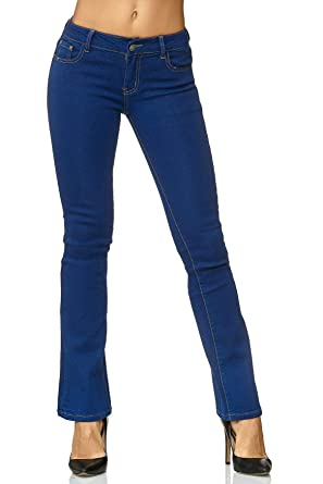 Pantalones Vaqueros de Campana Flares Bell-Bottom Jeans 70s ...