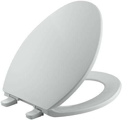 Prime Kohler K 4774 95 Brevia With Quick Release Hinges Elongated Toilet Seat Ice Grey Short Links Chair Design For Home Short Linksinfo