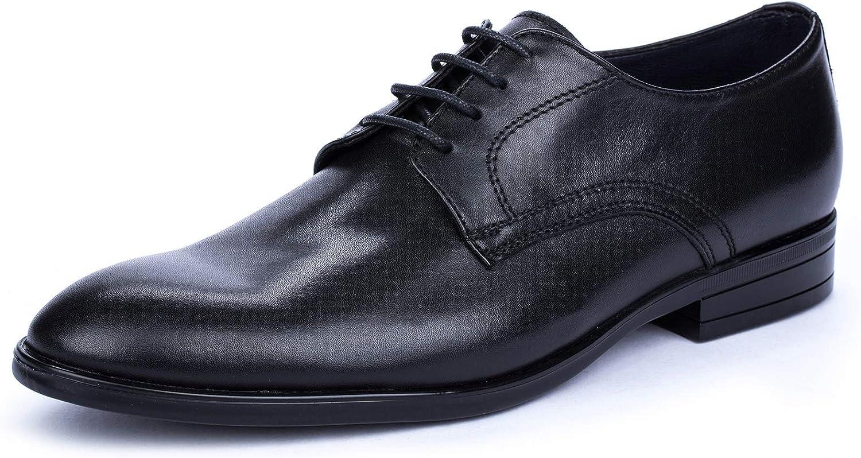 DCalderoni Mulhacén Negro Zapato Vestir De Piel con Cordones Hombre 45-50 EU
