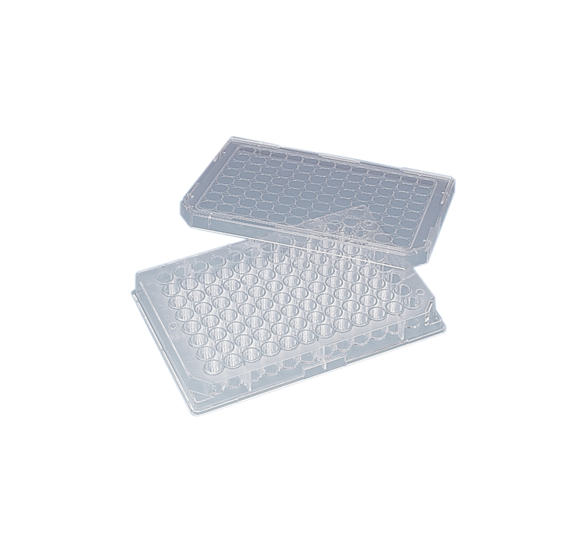 Nunc U96 MicroWell Polystyrene Clear Cell Culture Plates, 300µl Total Volume, 128mm L x 86mm W (Case of 50)