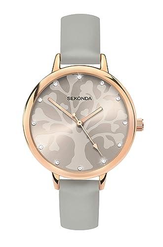 7d7f019e2 Sekonda Watches Womens Analogue Classic Quartz Watch with PU Strap 2649.27:  Amazon.co.uk: Watches