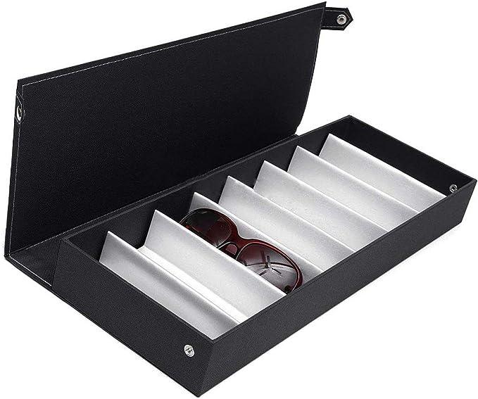 henyangsh Caja para gafas de sol, bolsa para anteojos, bandeja de ...