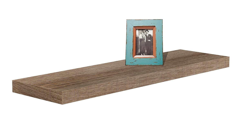 Steckboard Wandboard Hangeregal Wandregal Tuna Eiche Truffel