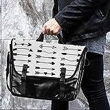 Messenger Bag Circle Arrow 15.6 Inch Briefcase
