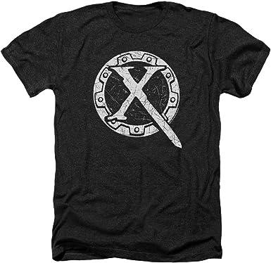 XENA WARRIOR PRINCESS SHOW LOGO Licensed Heather T-Shirt All Sizes