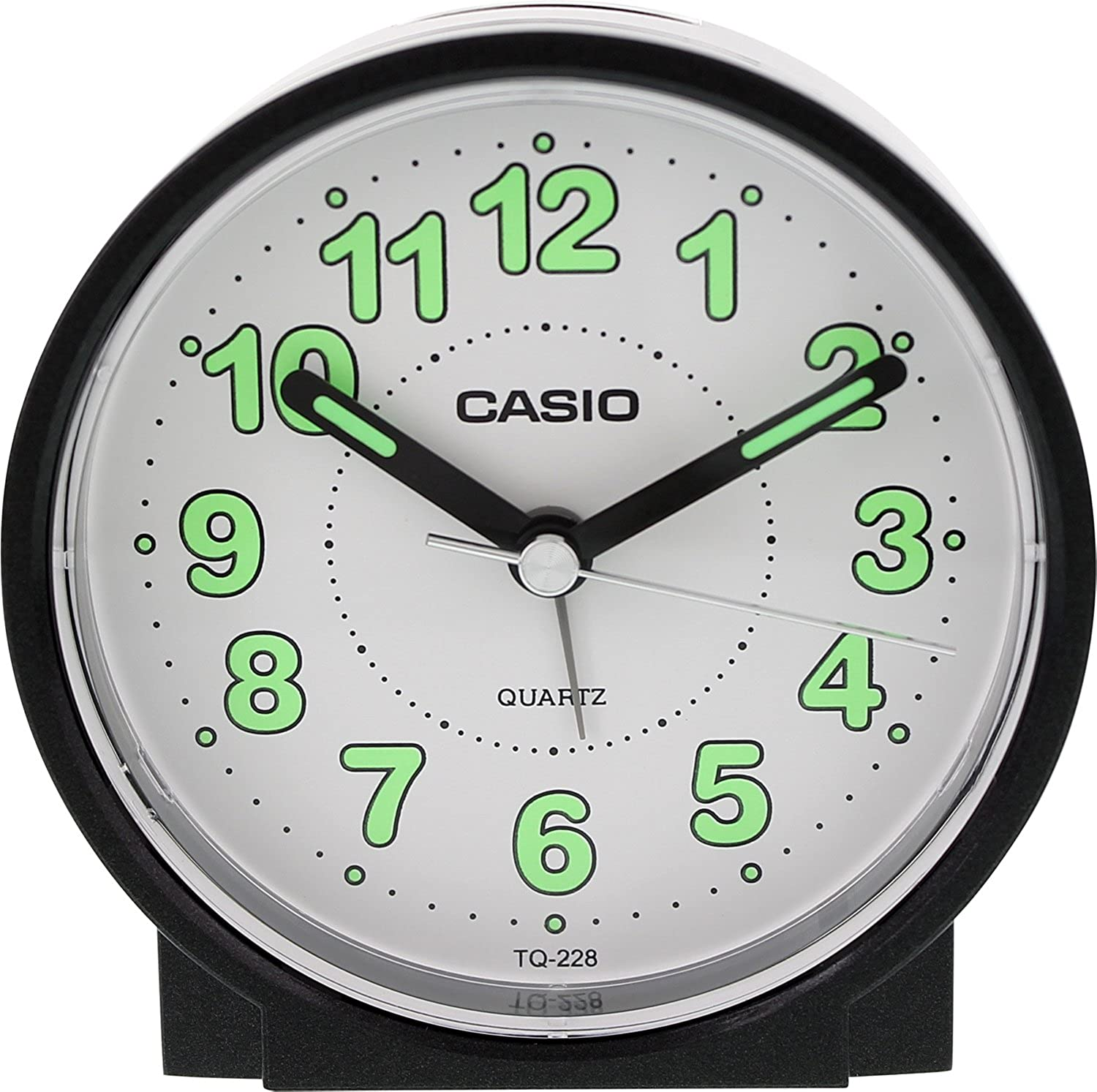 Amazon casio tq228 1df round travel table top alarm clock amazon casio tq228 1df round travel table top alarm clock classic watches amipublicfo Gallery