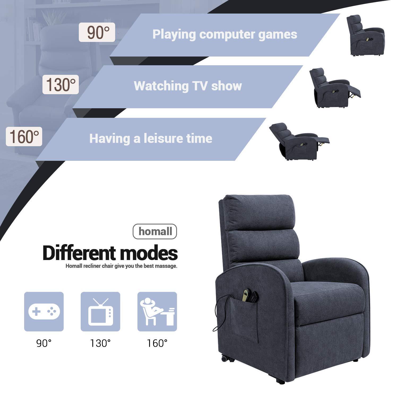 ghdonat.com Homall Electric Power Lift Recliner Chair Massage Sofa ...