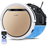 ILIFE V5s Pro 2, 2-in-1 Robot Vacuum and Mop, Slim, Automatic Self-Charging Robotic Vacuum, Daily Schedule, Zigzag Cleaning P