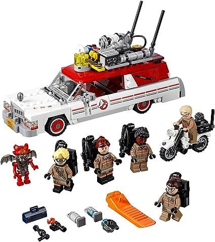 Amazon Com Lego Ghostbusters Ecto 1 2 75828 Building Kit 556