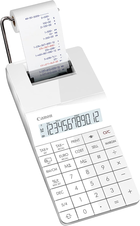 Canon X MARK 1 PRINT - Calculadora impresora, blanco: Amazon.es ...