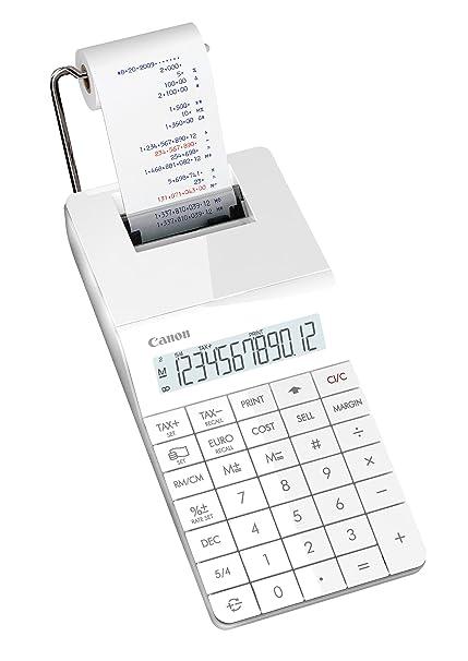 Canon X MARK 1 PRINT - Calculadora impresora, blanco