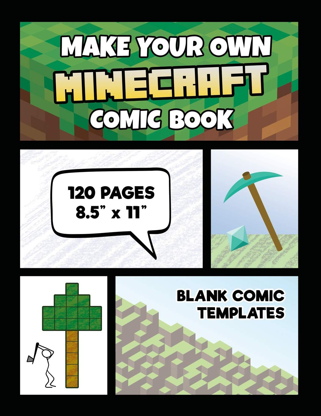 Make Your Own Minecraft Comic Book: Minecraft Activity Book
